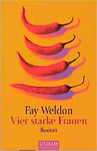 Cover Vier starke Frauen von Fay Weldon