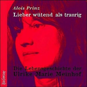 Cover Lieber wütend als traurig von Alois Prinz
