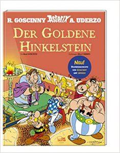 Cover Der Goldene Hinkelstein von René Goscinny und Alberto Uderzo