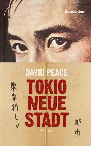 Cover Tokio neue Stadt von David Peace